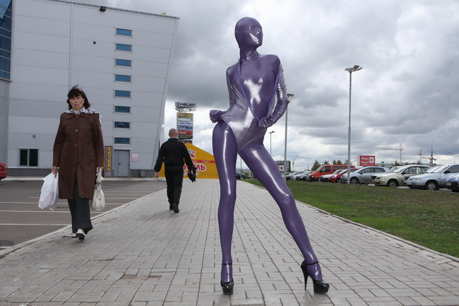 Shiny Living Statue